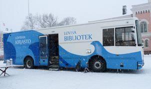 Loviisan kirjastoauto