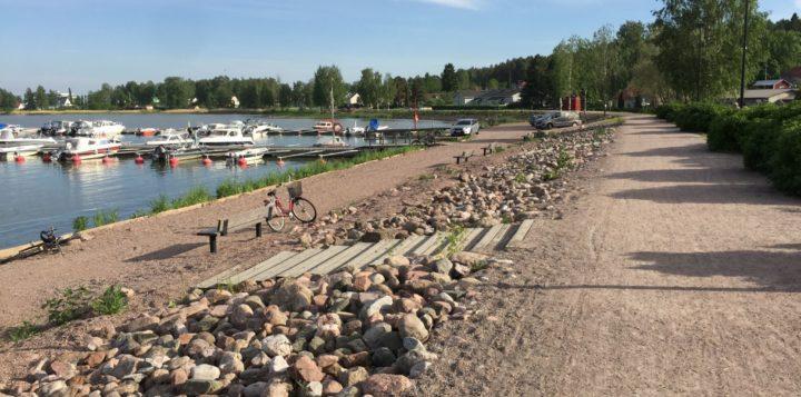 Loviisanlahden tulvavalli Lovisavikens fördämning