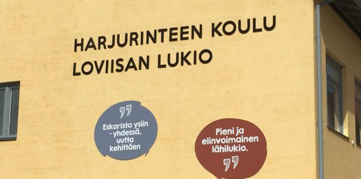 Harjurinteen koulu ja Loviisan lukio