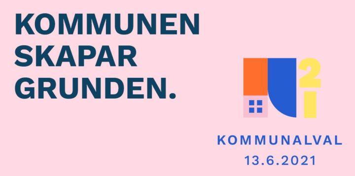 Kommunalval 13.6.2021